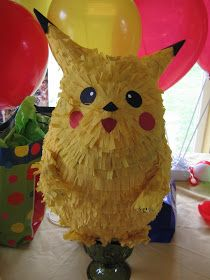 Sunny Expressions: The Perfect Pokemon Pikachu Party