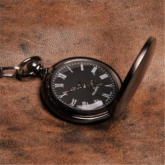 Classic yet contemporary Personalized Pocket Watch AnniGifts.com