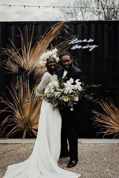 Wedding Bells, Boho Wedding, Dream Wedding, Wedding Day, Paris Wedding, Wedding White, Wedding Flowers, Modern Wedding Inspiration, Bridal Hair And Makeup
