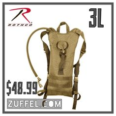 Looking for a Christmas gift for him? Get it http://zuffel.com/collections/hydration-packs/products/rothco-molle-3-liter-backstrap-hydration-system-coyote-brown fitness exercise biking bike cycling rothco hydration hydration pack pack bag backpack hiking trails hiking trips hiking adventures run runner running marathon marathon training marathon trek trails outdoors track bikes hydration pack zuffel gifts for him