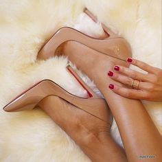 When the snow starts to fall, cozy up with Pigalle - 32 Gorgeous Louboutins That You Absolutely MUST See! #Louboutin - Style Estate -