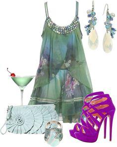 Outfits de Moda ...Me Tomo Cinco Minutos: FIESTA DE DÍA