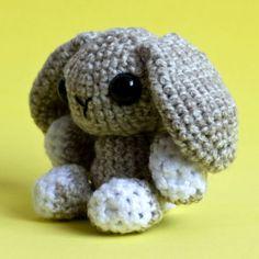 Amigurumi Lop Eared Brown Bunny   by cutedesigns