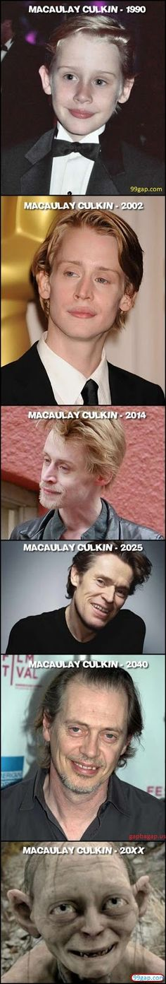 #FunnyPictures Of Macaulay Culkin