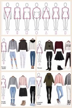 rectangle body shape outfits outfits style Source by fikenyy casual como combinar Teen Fashion Outfits, Mode Outfits, Look Fashion, Trendy Outfits, Girl Outfits, Fashion Dresses, Fashion Beauty, Capsule Outfits, Grunge Outfits