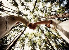 Beautiful Wedding Photo Idea - Forest