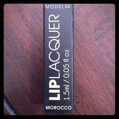 """New model cosmetics lip lacquer New model co. Lip lacquer in """"Morocco"""" Makeup Lip Balm & Gloss"""