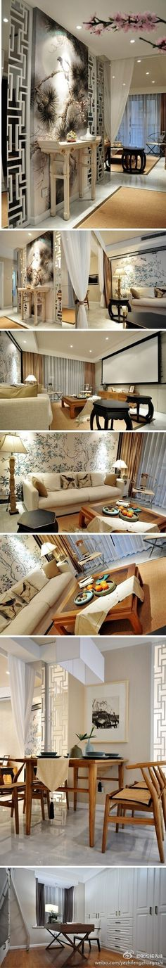 Elegant and modern Asian design
