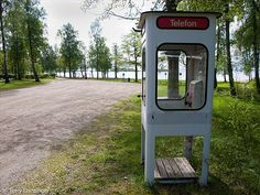 Swedish old phonebooth, could be used for all sort of things;) Had to stay a rainy and windy night in one but thats another story;)))