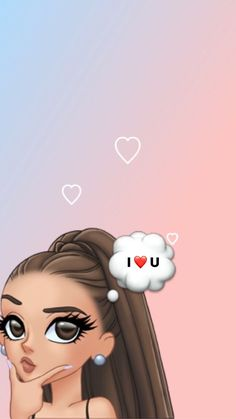 Ariana Grande Anime, Ariana Grande Cute, Ariana Grande Drawings, Ariana Grande Wallpaper, Ariana Grande Pictures, Sassy Wallpaper, Iphone Wallpaper Sky, Mood Wallpaper, Cute Wallpaper Backgrounds