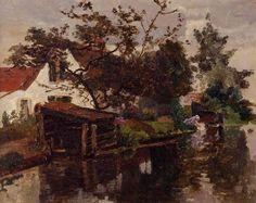 """Boerenwoning"" -  Paul Joseph Constantin Gabriël"