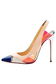 Christian Louboutin ~ Women's Shoes - 2014 Spring-Summer. #ChristianLouboutin #VonGiesbrechtJewels