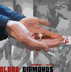 Blood diamonds campaign Blood, Campaign, Diamonds, Graphics, Digital, Movie Posters, Movies, Art, Craft Art