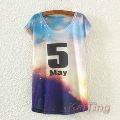 New Fashion Vintage Spring Summer T Shirt Tops