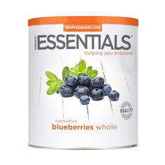 Emergency Essentials® Freeze-Dried Whole Blueberries Large Can