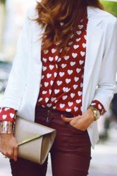 Heart blouse. Love it!