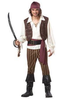 Mens Rogue Pirate Costume $42.99