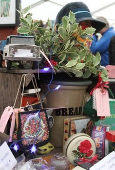 Gorgeous vintage stock at Hay Does Vintage, Hay-on-Wye Small Towns, Winter Wonderland, Vintage Christmas, Old Time Christmas, Retro Christmas