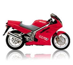 Honda VFR 750 F. Oh so lovely super smooth V4. Better than the later models in my opinion.