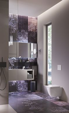 Geberit's in-wall toilet tank systems feature a sleek design and space-saving benefits for the bathroom, which is typically the smallest room of the home.
