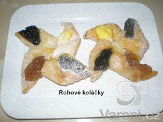 Recept Křehké svatební koláčky - Rohové svatební koláčky.