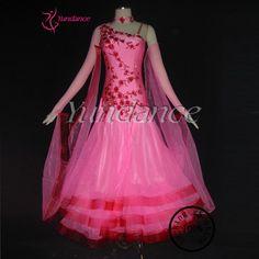 >> Click to Buy << B-10416 Ballroom Dance Wear,Europe style ballroom dance dress long sleeve,Performance Stage dance wear  #Affiliate