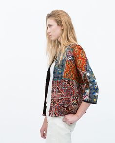 EMBROIDERED PRINTED JACKET-TRF-NEW THIS WEEK | ZARA Netherlands