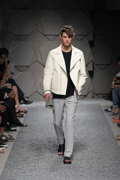 A collection inspired by contrasting opposites, the #SS14 Z #Zegna Collection focuses on event wear, revisited with a younger, forward-thinking vibe and sartorial irreverence. Relaxed and unconventional, yet attentive to the canons of impeccable tailoring, the Z Zegna man cherishes his social outings. www.zegna.com