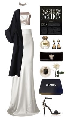 """""""darlin'"""" by jayda-xx ❤ liked on Polyvore featuring Maison Margiela, Galvan, Versace, Tocca, Dolce&Gabbana, MeDusa, Merci Me London and Chanel"""