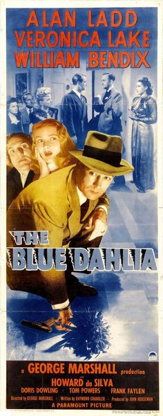 Extra Large Movie Poster Image for The Blue Dahlia