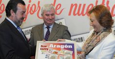 La ONCE incluye cuatro imágenes de Aragón en los cupones del 75 aniversario