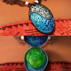 Moana's Necklace is made out of a Abalone Shell which we call 'Paua' and can be found throughout many countries around the world, however the featured shell ...