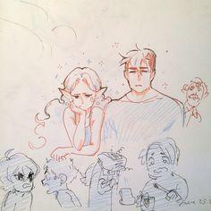 Some twatter doodles (ノ◕ヮ◕)ノ*:・゚✧