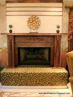 That S The Existing Mantle In My Dream Reno House Trinity Nelson Fireplace Redo Ideas