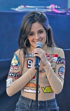 Camila on stage at #SPFVegas