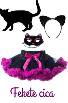 cica cat macska jelmez fancy dress