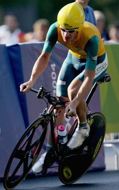 Michael Rogers - Riding for Australia in 2004 Olympics
