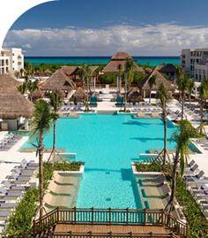 Where we stayed....march 2013.Paradisus Playa del Carmen La Perla, Playa del Carmen, Riviera Maya, México