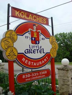 Little Gretel Restaurant located on River Road in Boerne, TX