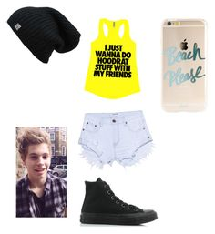 """Going to the park with Luke"" by danandphillover on Polyvore featuring One Teaspoon and Converse"