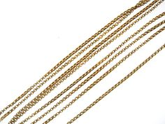 English Long Gold Chain