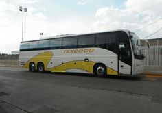 Un autobus de la linea Texcoco en Puebla. Http://140mexico.com