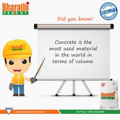 #DidYouKnow An Interesting #Fact about #Concrete.