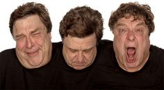 John Goodman from «In Character: Actors Acting» by Howard Schatz