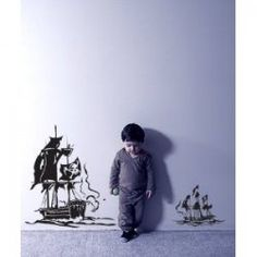Ship wall decals
