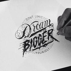 Inspiration hand lettering avec Raul Alejandro