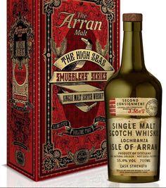 New Release - Arran Smugglers Edition - Volume 2 #scotch #whisky #whiskey #malt #singlemalt #Scotland #cigars