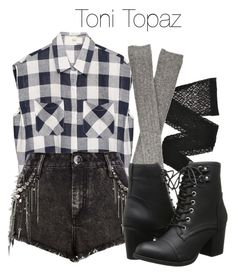 Toni Topaz - Riverdale by shadyannon on Polyvore featuring polyvore fashion style River Island Hansel from Basel Wolford Madden Girl clothing