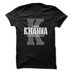 Khanna team lifetime member ST44 - #boyfriend shirt #oversized tshirt. GUARANTEE => https://www.sunfrog.com/LifeStyle/Khanna-team-lifetime-member-ST44.html?68278