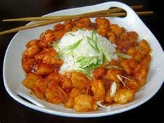 P.F. Chang's ORANGE PEEL CHICKEN * not difficult to do at home ** photo & recipe courtesy of P.F. Chang's